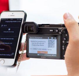 Kết nối máy ảnh Sony với điện thoại - Imaging Edge Mobile