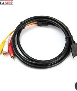 Cáp chuyển HDMI sang AV 3 RCA
