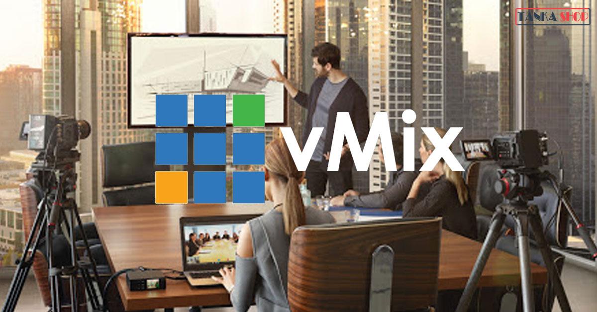 Phần mềm livestream Vmix trên máy tính