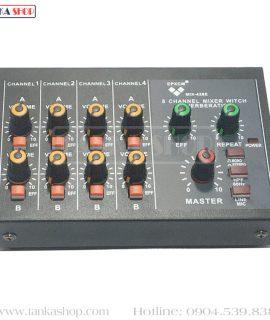 Bộ trộn âm thanh 8 kênh Mono 4 kênh Stereo Mixer MIX-428E