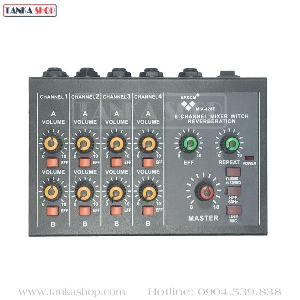 Bộ trộn âm thanh Mixer Mini MIX-428E