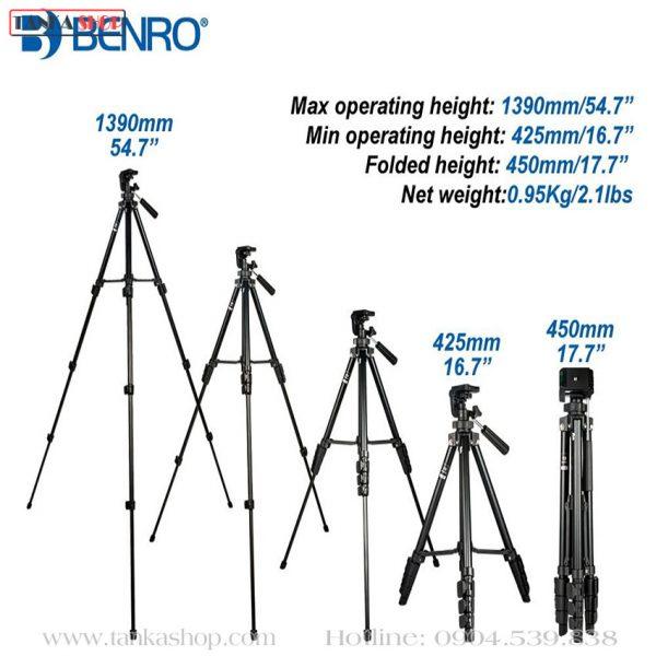 Tripod máy ảnh giá rẻ Benro T560